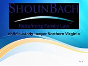 child custody lawyer Northern Virginia