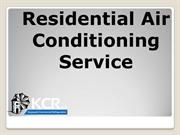 Residential AirConditioning Service