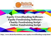 Equity Crowdfunding Software - Equity Fundraising Software - Charity F