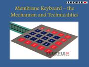 Membrane Keyboard – the Mechanism and Technicalities