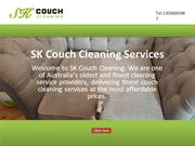 SK Couch Cleaning Services