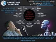 Chief Artificial Intelligence Officers Email List| CAIO Mailing Lists
