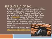 Experience the services nationwide with Super Deals RV in GA