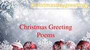 Christmas Greeting Poems
