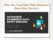 How Outsource data entry helps