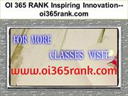 OI 365 RANK Inspiring Innovation--oi365rank.com