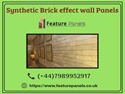 New Models of Synthetic Brick effect Wall Panels - Feature Panels
