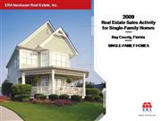 2009 Real Estate Activity/Single-Family
