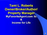 Income for Life Online Presentation