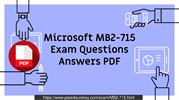 MB2-715 Microsoft Practice Exam Dumps Question & Answers