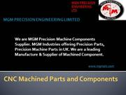 MGM PRECISION ENGINEERING LIMITED