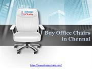 Buy office chairs in Chennai