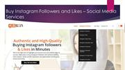 Buy Instagram Followers and likes From Hubsoon