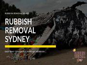 Rubbish Removal Services in Sydney | Cheap and Best Rubbish Removal