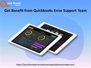 Benefit from Quickbooks Error Support