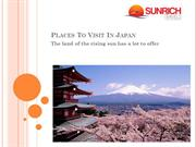 Japan Tour Packages From India With Sunrich Travels