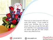 OyeGifts is the Number One Portal to Send Gifts to India