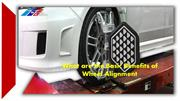 What are the Basic Benefits of Wheel Alignment