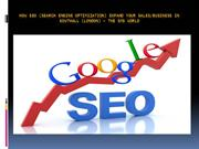 How Search Engine Optimization expand your sales-business in Southall
