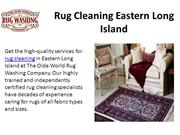 Rug Cleaning Eastern Long Island