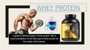 Whey Protein : Top 5 Whey Protein Powder Supplements Review