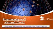 Buy Verified Microsoft 70-483 Exam Questions - Microsoft 70-483 Dumps