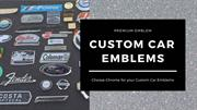 Slide of Custom Emblems | Premium Emblems Pvt Ltd
