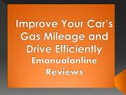 Improve Your Car's Gas Mileage and Drive Efficiently Emanualonline Rev