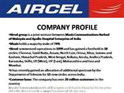 aircel final ppt