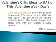 Valentine's Gifts Ideas to UAE on This Valentine Week Days