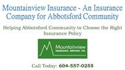Mountainview Insurance - An Insurance Company for Abbotsford Community