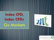 Trade Index CFDs, Index CFD with Go Markets
