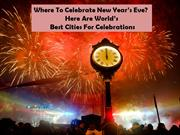 Best Places In The World To Celebrate New Year