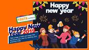 Youth Express Wishing You a very happy New Year 2019