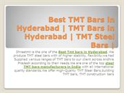 Best TMT Bars in Hyderabad | TMT Bars in Hyderabad | TMT Steel Bars |