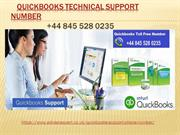 Quickbooks Tech Support Number +44 845 528 0235