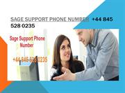 Sage Tech Support Number +44 845 528 0235