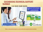 Quickbooks Support Number +44 845 528 0235