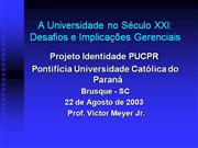 Gest�o Universitaria Victor Meyer