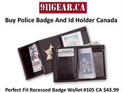 Buy Police Badge And Id Holder Canada