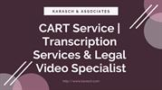 CART Service _ Transcription Services & Legal Video Specialist