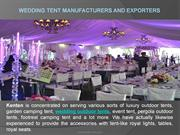 Wedding Tent Manufacturers and Exporters (1)