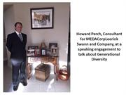 Howard Perch Consultant for MEDACorpLeerink Swann and Company