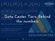 Data Center tiers: Behind the numbers.