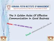 Golden Rules Of Effective Communication In Good Business
