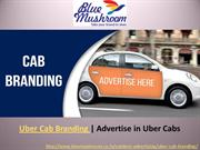 Uber Cab Branding in India | Advertise in Uber Cab | Car Branding
