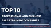 Top 10 Professional and Business Sales Training Companies | India