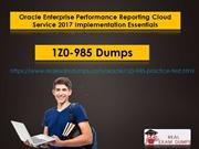 Pass Oracle 1z0-985Exam in First Attempt - Oracle 1z0-985Dumps