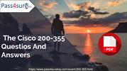 200-355 - Cisco Practice Exam Questions & Answers