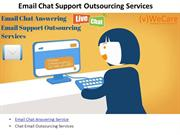 Call Center Outsourcing Email Chat Answering Services